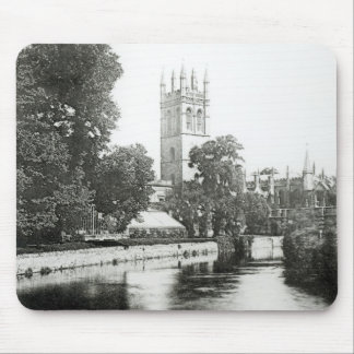Magdalen College from the Cherwell Mouse Pad