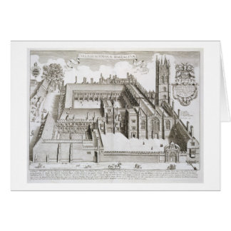 Magdalen College, Oxford, from 'Oxonia Illustrata' Card