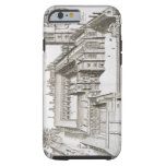 Magdalen College, Oxford, from 'Oxonia Illustrata' Tough iPhone 6 Case