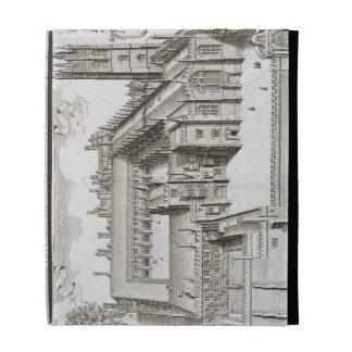 Magdalen College, Oxford, from 'Oxonia Illustrata' iPad Folio Cover
