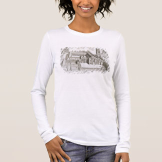 Magdalen College, Oxford, from 'Oxonia Illustrata' Long Sleeve T-Shirt