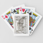 Magdalen College, Oxford, from 'Oxonia Illustrata' Bicycle Playing Cards