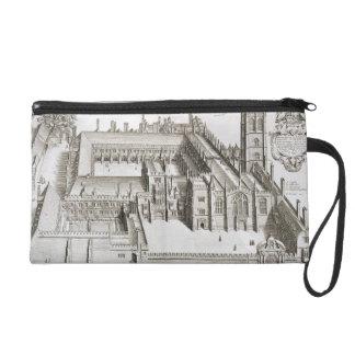 Magdalen College, Oxford, from 'Oxonia Illustrata' Wristlet Purse