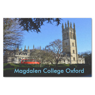 Magdalen College Oxford University England Tissue Paper