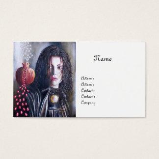 MAGDALEN MONOGRAM white Business Card