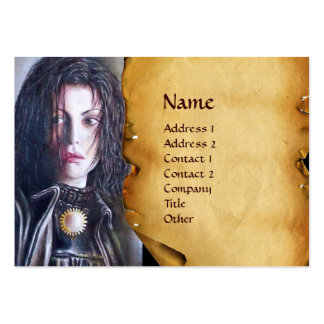 MAGDALEN parchment Business Card Template