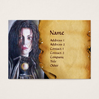 MAGDALEN parchment Business Card