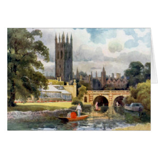 Magdalen Stationery Note Card