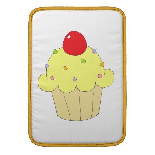 Magdalena amarilla funda macbook air