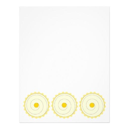 Magdalena amarilla. Torta helada Tarjetas Publicitarias
