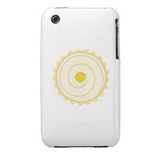 Magdalena amarilla. Torta helada iPhone 3 Case-Mate Cobertura
