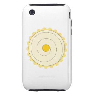 Magdalena amarilla. Torta helada iPhone 3 Tough Cobertura
