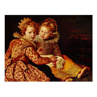 Magdalena and Jan-Baptist de Vos Post Cards