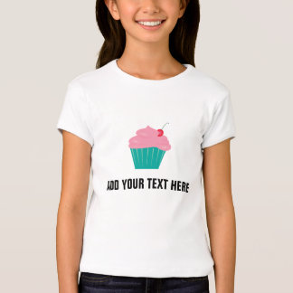 Magdalena con helar del rosa y texto adaptable playera