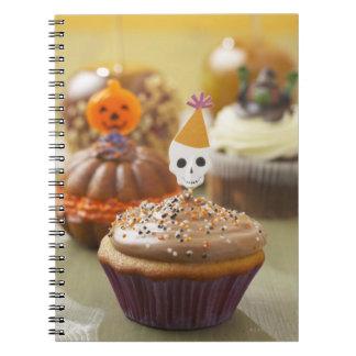Magdalena de Halloween Libro De Apuntes