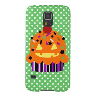 Magdalena de la calabaza de Halloween Fundas De Galaxy S5
