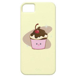 Magdalena de la cereza del chocolate funda para iPhone 5 barely there