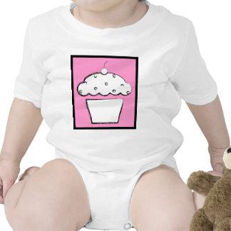magdalena de la cereza del grunge trajes de bebé