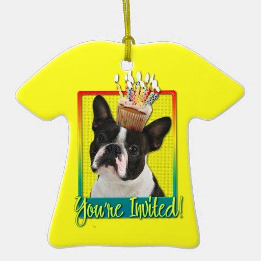 Magdalena de la invitación - Boston Terrier