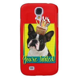 Magdalena de la invitación - Boston Terrier Funda Para Galaxy S4