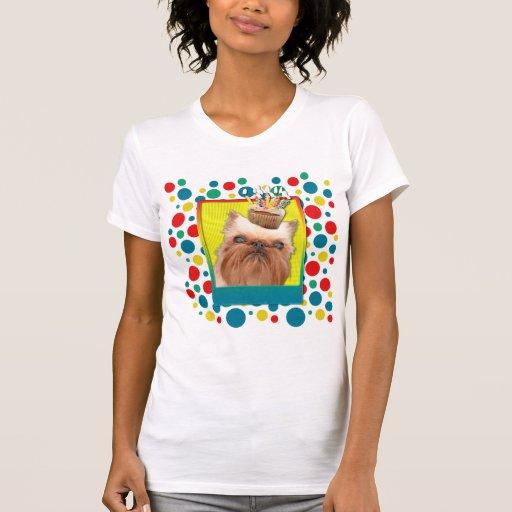 Magdalena de la invitación - Bruselas Griffon Camiseta