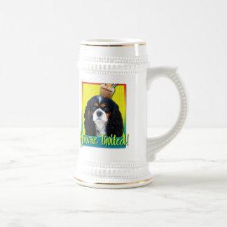 Magdalena de la invitación - caballero - tricolora tazas de café