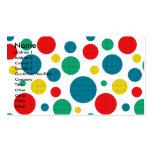 Magdalena de la invitación - caniche - rojo plantillas de tarjeta de negocio
