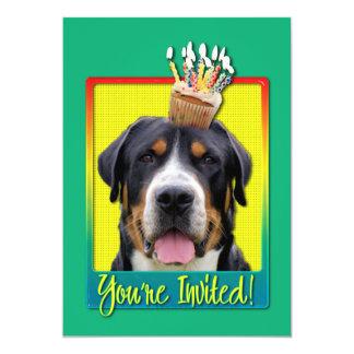 Magdalena de la invitación - mayor perro suizo de