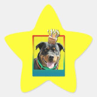 Magdalena de la invitación - Rottweiler - Pegatina En Forma De Estrella