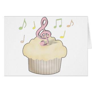 Magdalena de la música tarjeta de felicitación