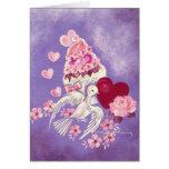 Magdalena de la tarjeta del día de San Valentín co