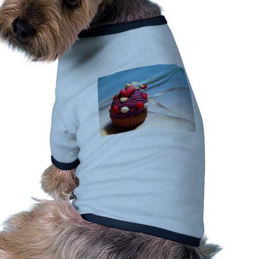 Magdalena de la tarjeta del día de San Valentín Camiseta Con Mangas Para Perro