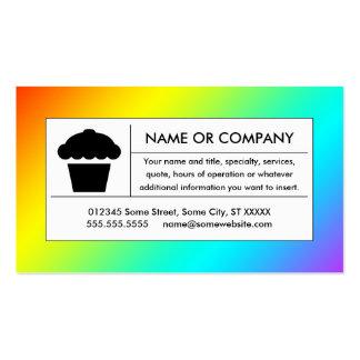 magdalena del arco iris tarjetas de negocios