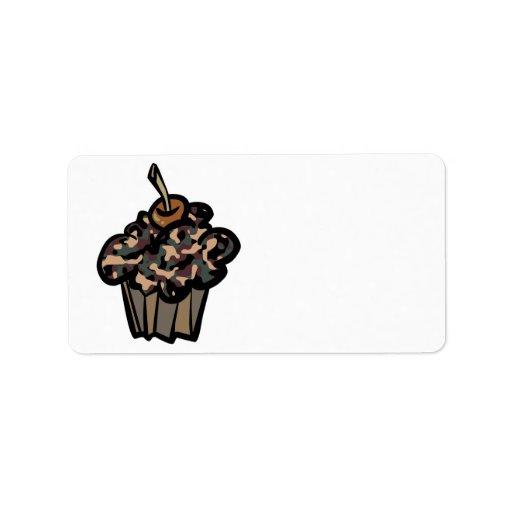 magdalena del camuflaje etiqueta de dirección