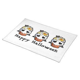 Magdalena del cráneo de Halloween Manteles