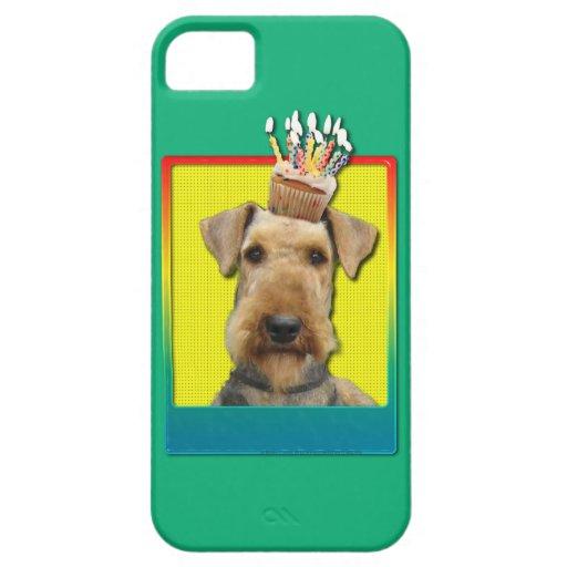Magdalena del cumpleaños - Airedale iPhone 5 Carcasa