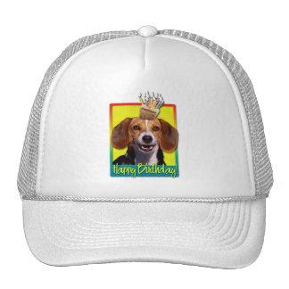 Magdalena del cumpleaños - beagle gorras