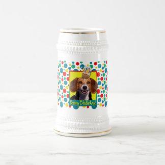 Magdalena del cumpleaños - beagle taza