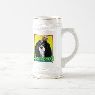 Magdalena del cumpleaños - caballero - tricolora taza de café
