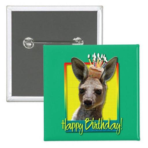 Magdalena del cumpleaños - canguro pin