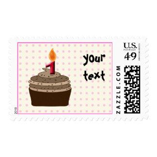 Magdalena del cumpleaños - chica del cumpleaños sellos