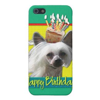 Magdalena del cumpleaños - con cresta chino - Kahl iPhone 5 Protectores