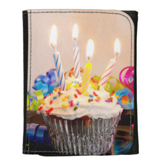 Magdalena del cumpleaños con las velas
