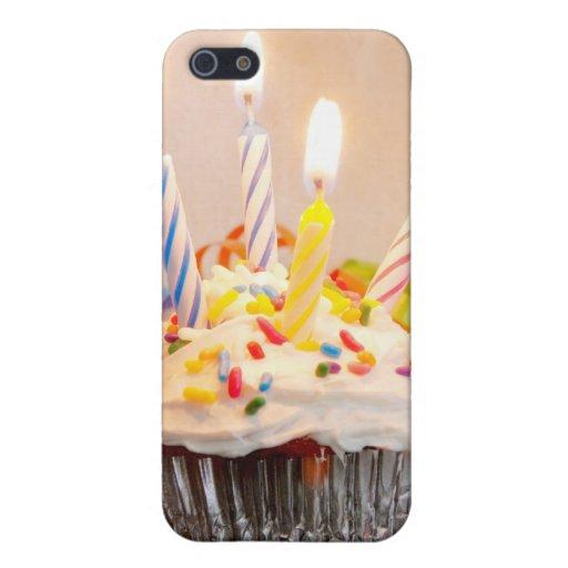 Magdalena del cumpleaños con las velas iPhone 5 carcasa