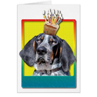 Magdalena del cumpleaños - Coonhound de Bluetick - Tarjeta De Felicitación