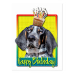 Magdalena del cumpleaños - Coonhound de Bluetick - Postal