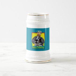 Magdalena del cumpleaños - Coonhound de Bluetick - Jarra De Cerveza