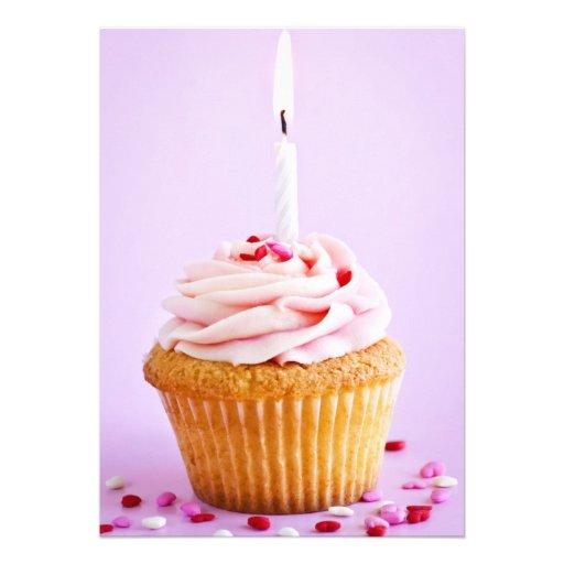 Magdalena del cumpleaños invitacion personalizada