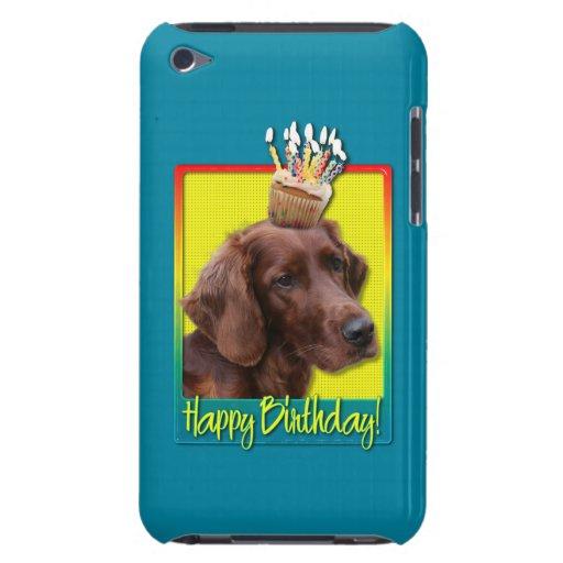 Magdalena del cumpleaños - Irish Setter iPod Touch Case-Mate Protector