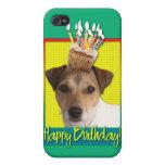 Magdalena del cumpleaños - Jack Russell iPhone 4 Carcasas